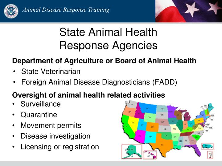 State Animal Health