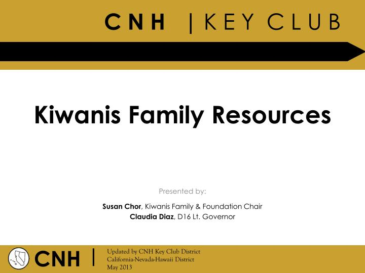 kiwanis family resources