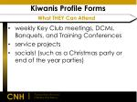 kiwanis profile forms what they can attend
