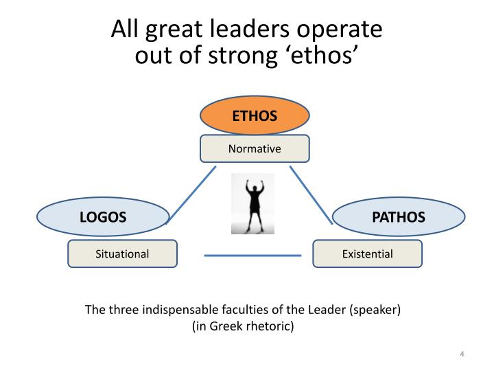 All great leaders operate