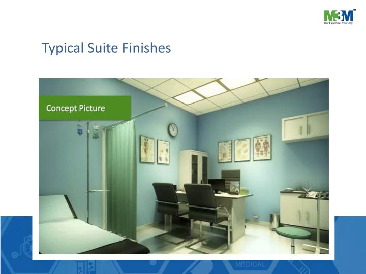Typical Suite Finishes
