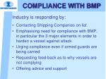 compliance with bmp1