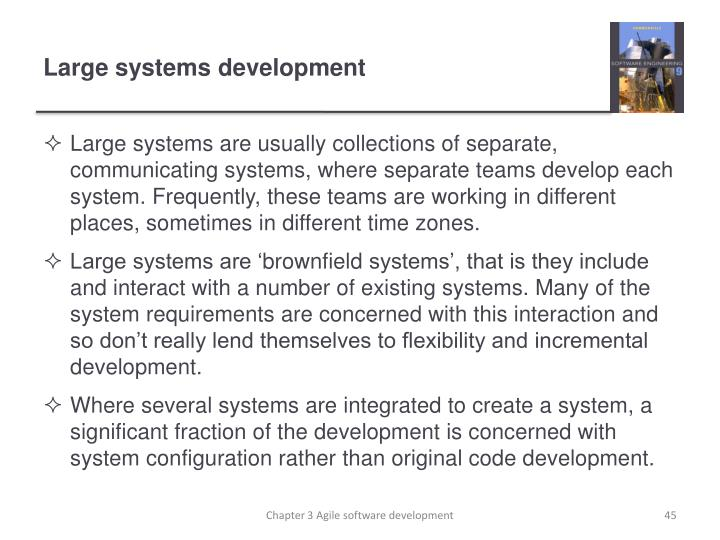 Large systems development
