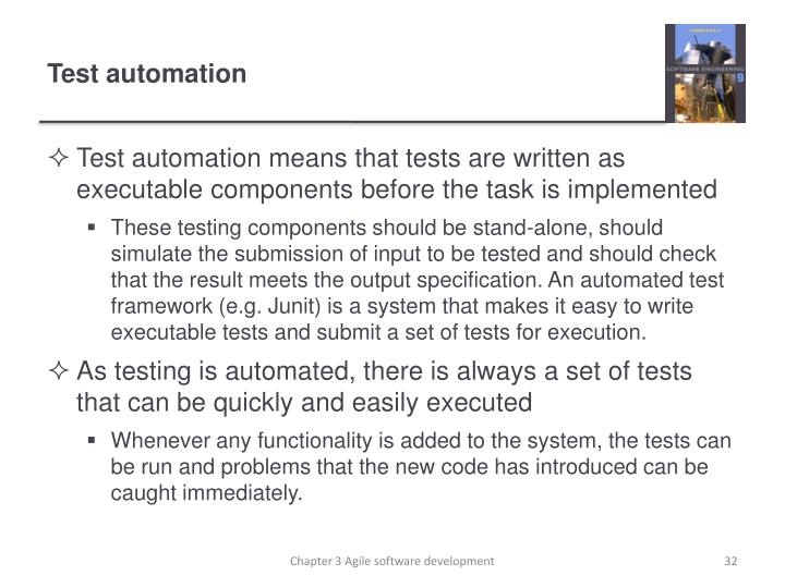 Test automation