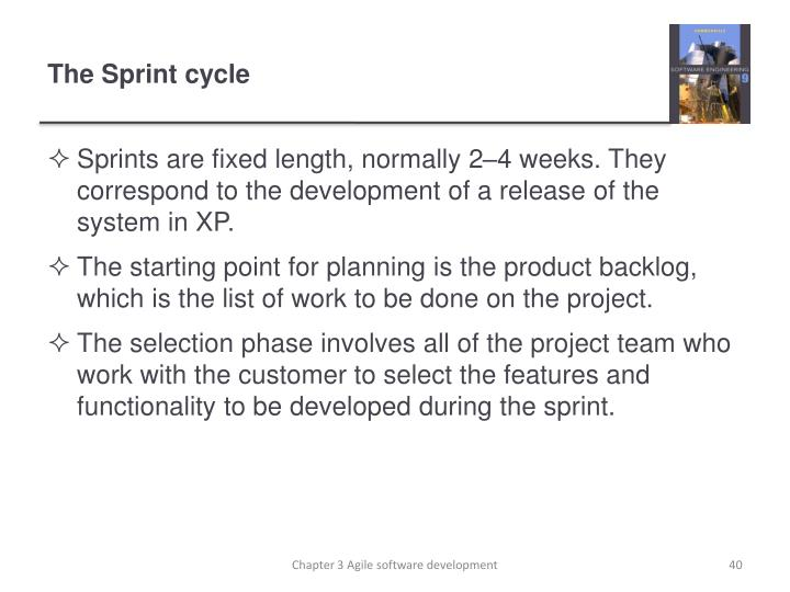 The Sprint cycle