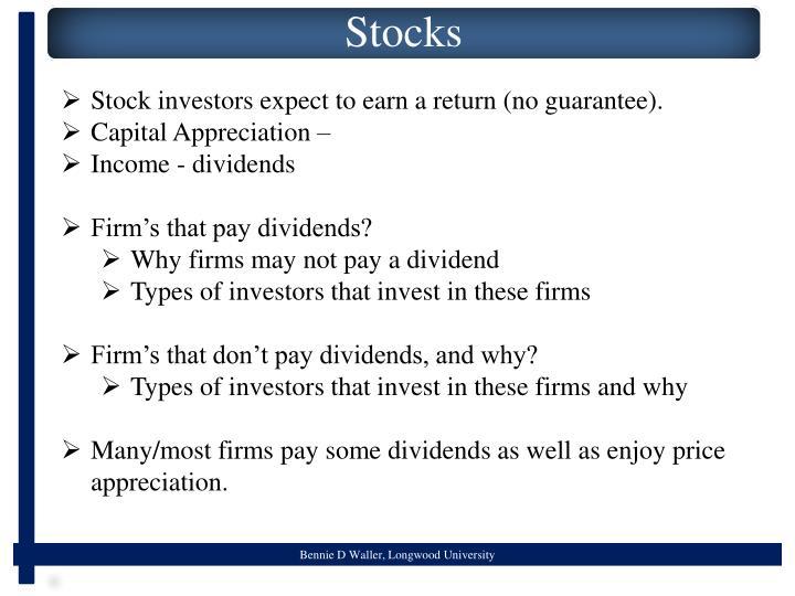 Stock investors