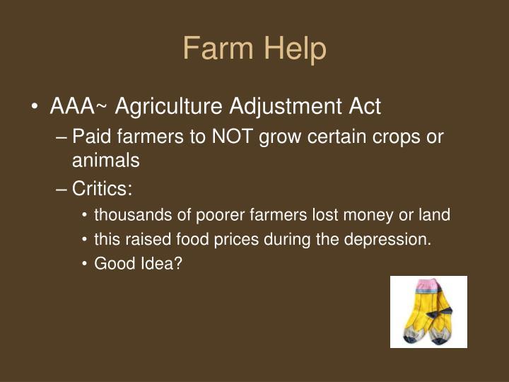 Farm Help