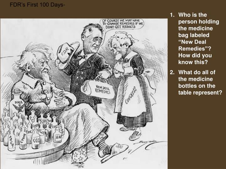 FDR's First 100 Days-