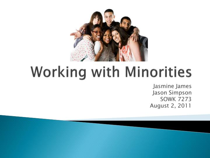 working with minorities