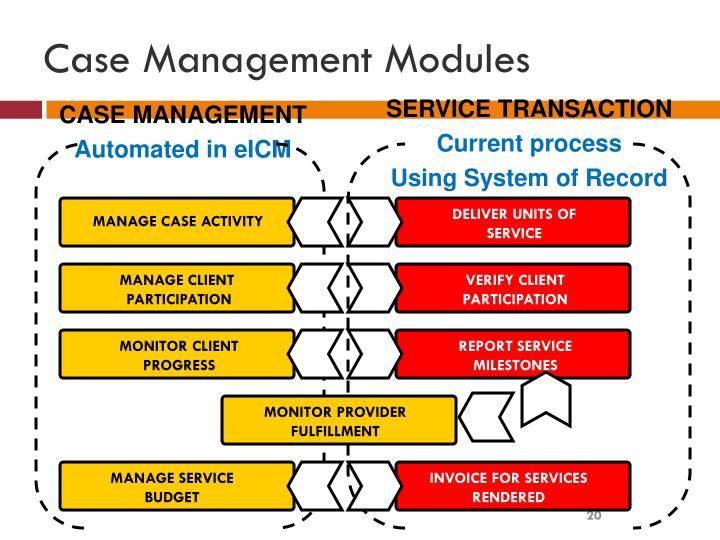 Module 1: Tools, Techniques, & Principles in Case Management