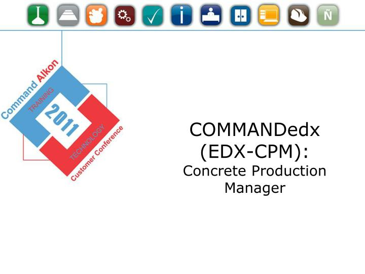 COMMANDedx