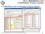 commandqc product classes1