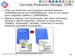 concrete production manager cpm
