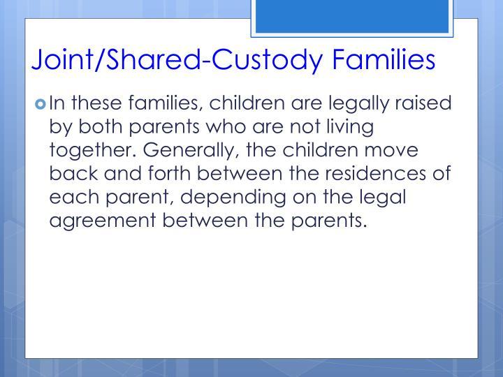Joint/Shared-Custody