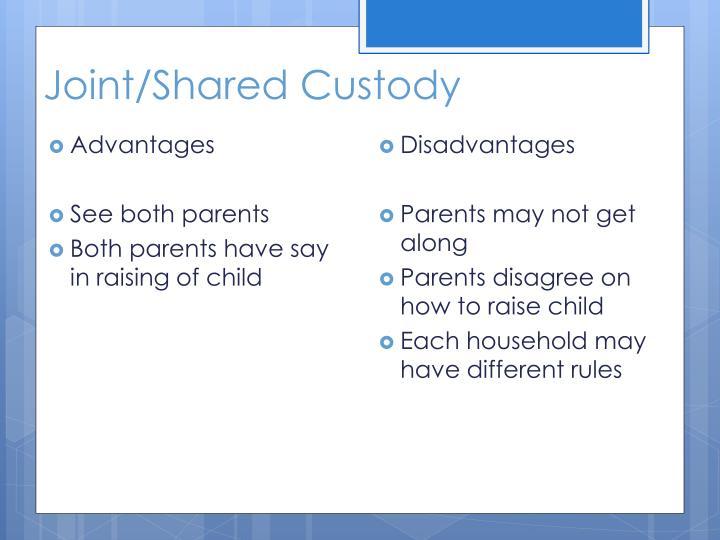 Joint/Shared Custody