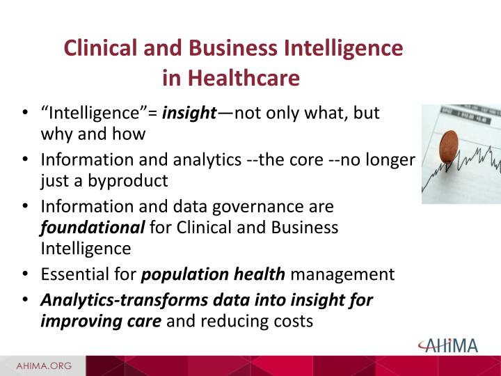 business intelligence in healthcare case study Business intelligence case study health care a leading multinational in the business of providing biomedical equipment and sample testing.