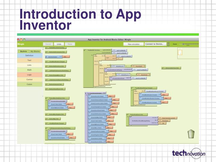 Introduction to App Inventor