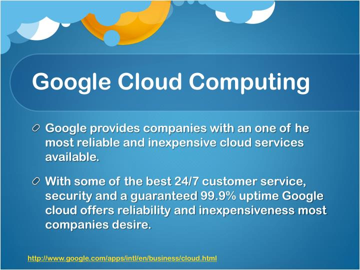 Google Cloud Computing