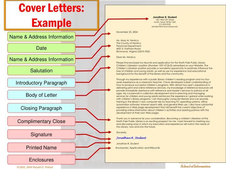 Name & Address Information
