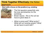 think together effectively the ketso approach1