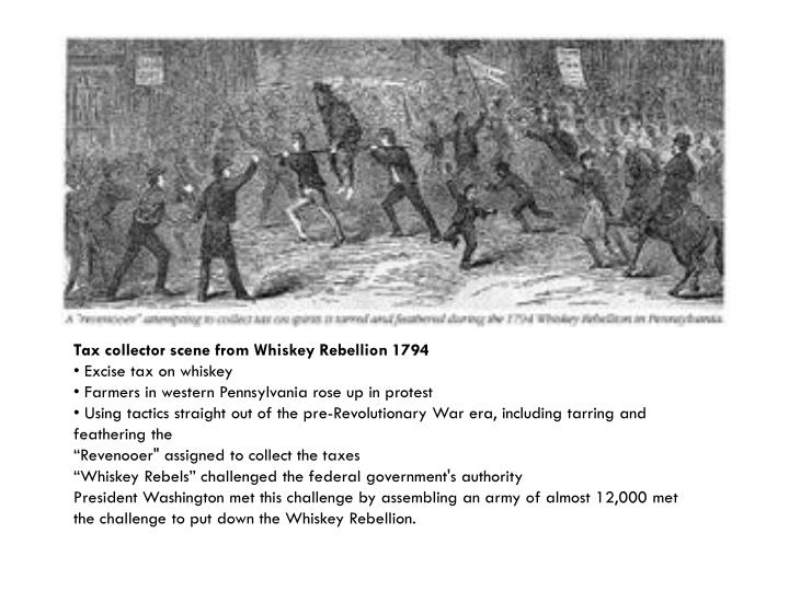Tax collector scene from Whiskey Rebellion