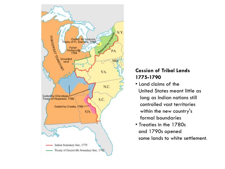 Cession of Tribal Lands