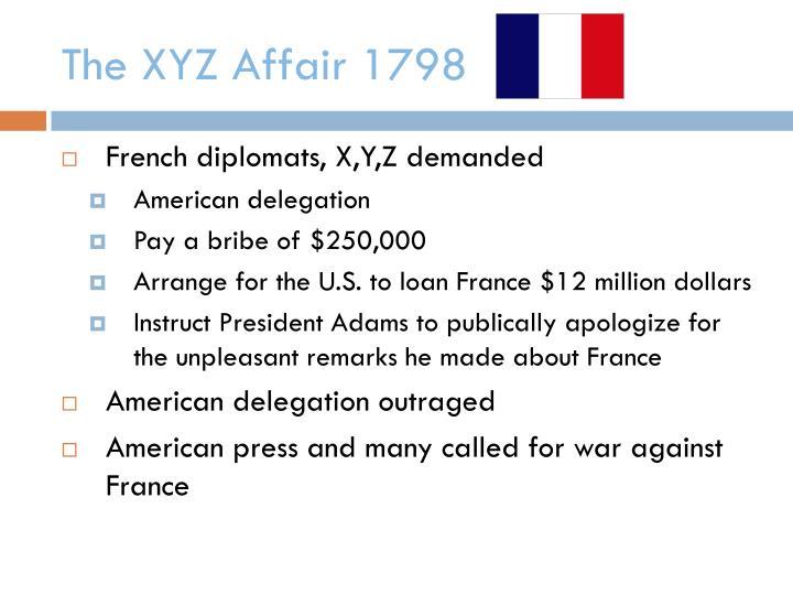 The XYZ Affair 1798