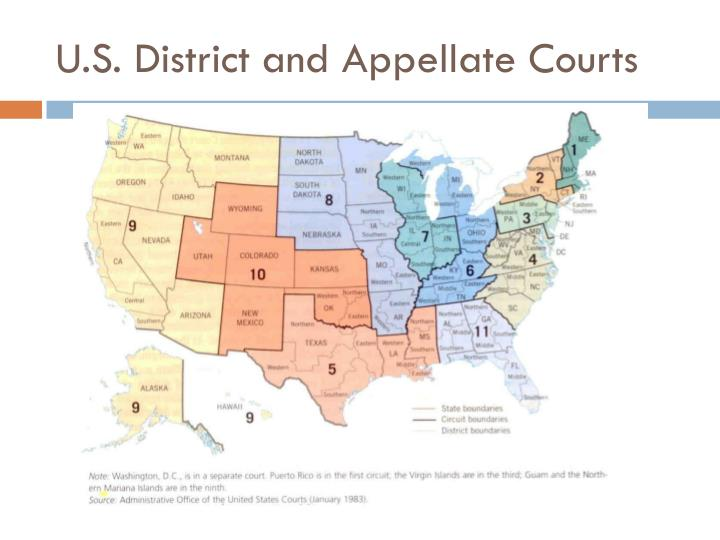 U.S. District and Appellate Courts