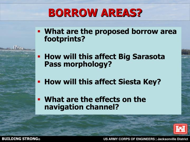 BORROW AREAS?