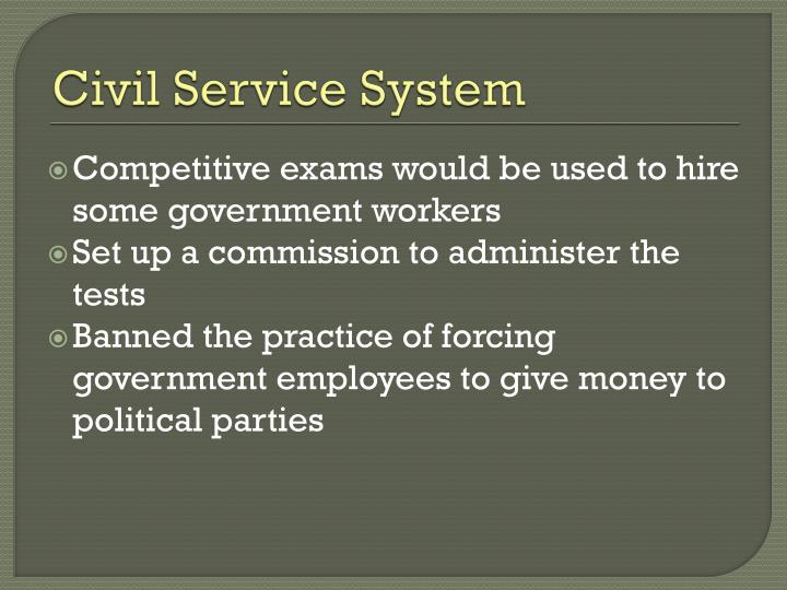 Civil Service System
