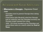 relations with native americans1