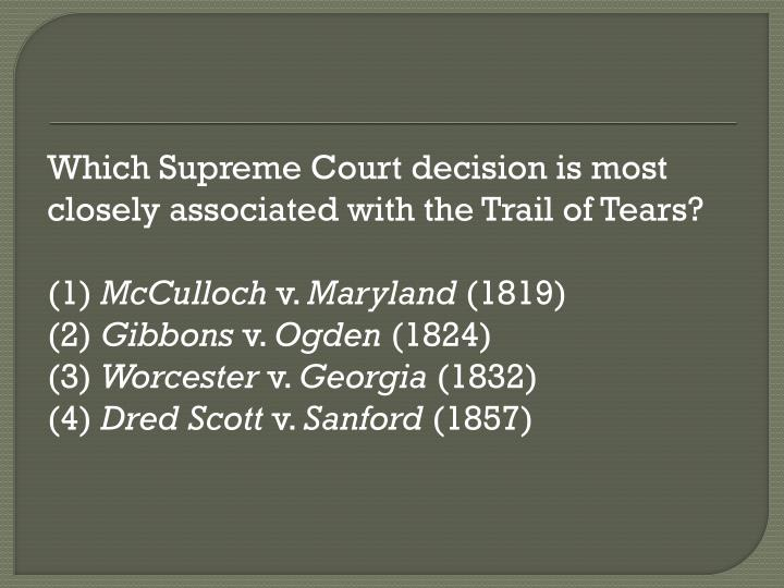 Which Supreme Court decision is