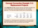 concept connection example 11 3 replacement projects5