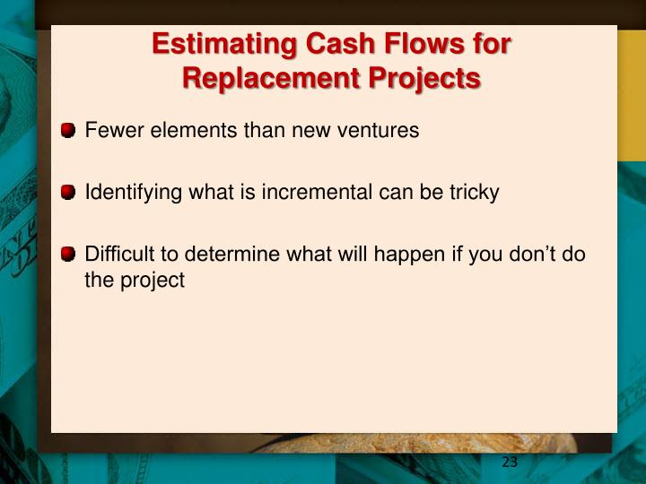 Estimating Cash Flows for