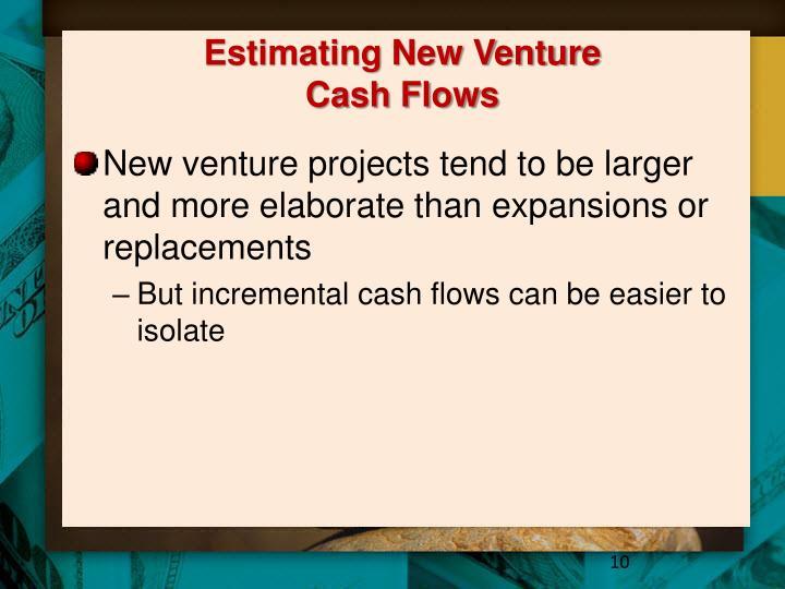 Estimating New Venture