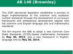ab 140 brownley