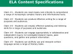 ela content specifications1