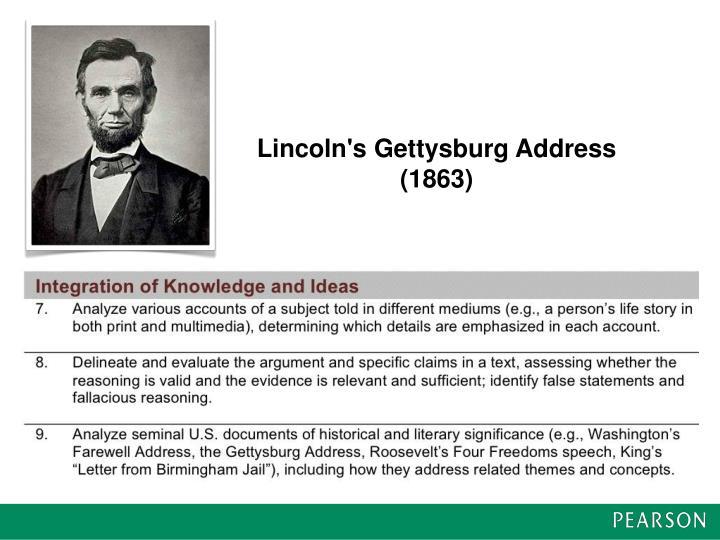 Lincoln's Gettysburg Address (1863)