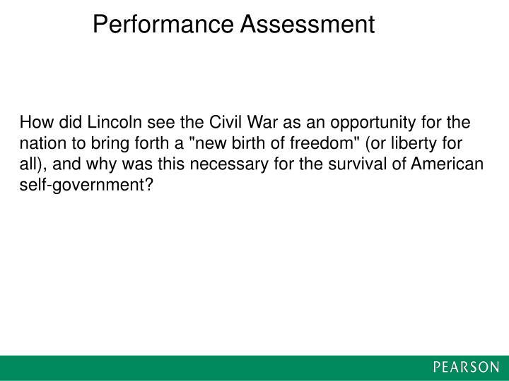 Performance Assessment