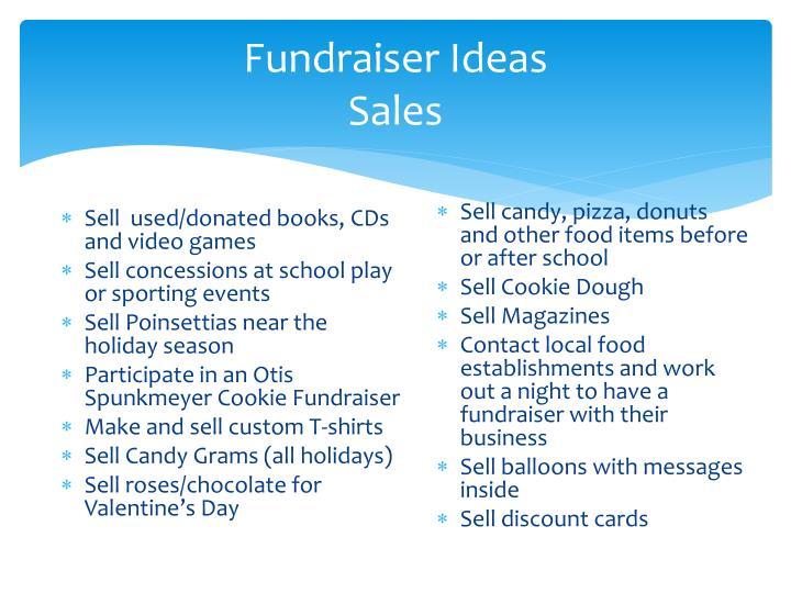 Fundraiser Ideas