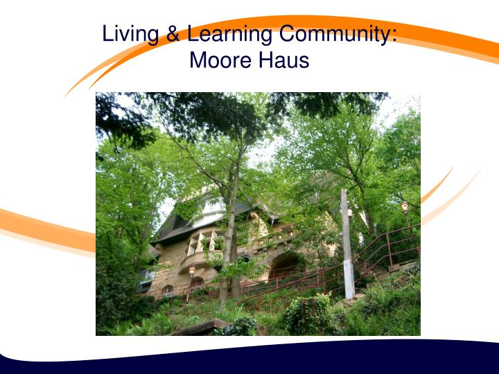 Living & Learning Community: