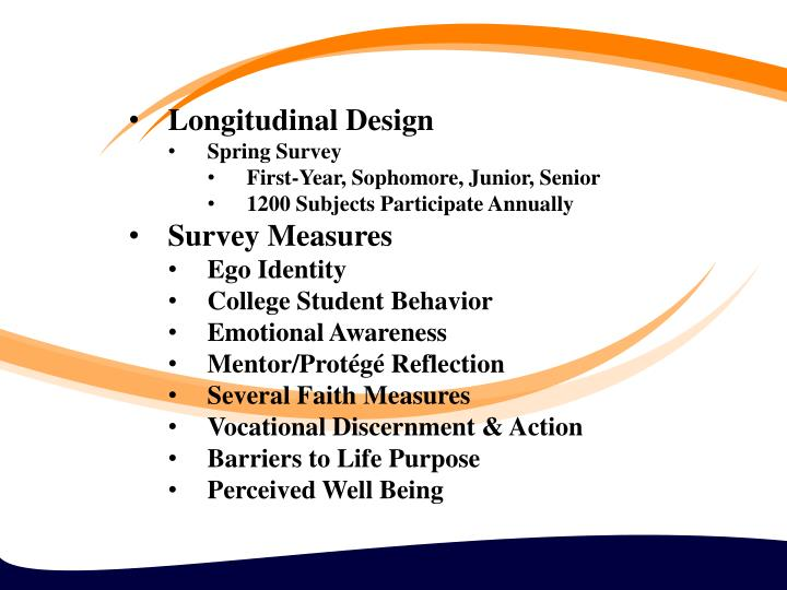 Longitudinal Design