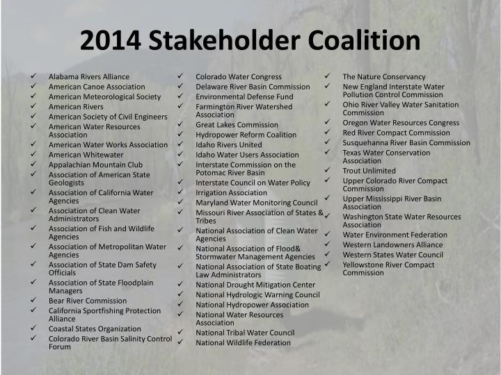 2014 Stakeholder Coalition