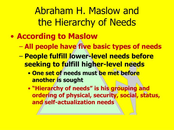 Abraham H. Maslow and