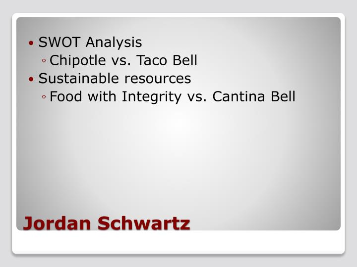 mexican restaurant swot If you would like to learn how to conduct a proper swot analysis for your restaurant, then click here to view the article that can help you.