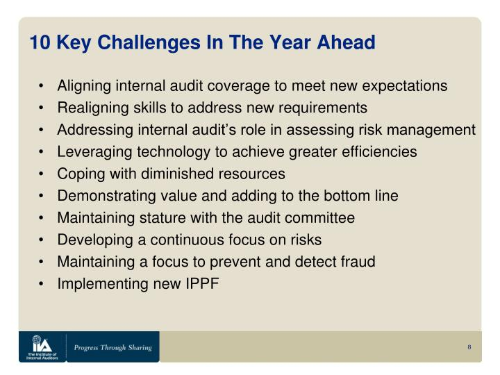 10 Key Challenges In The Year Ahead
