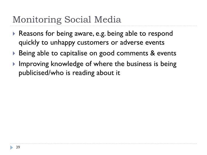 Monitoring Social