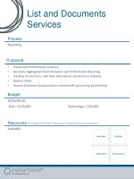 list and documents services1