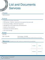 list and documents services2