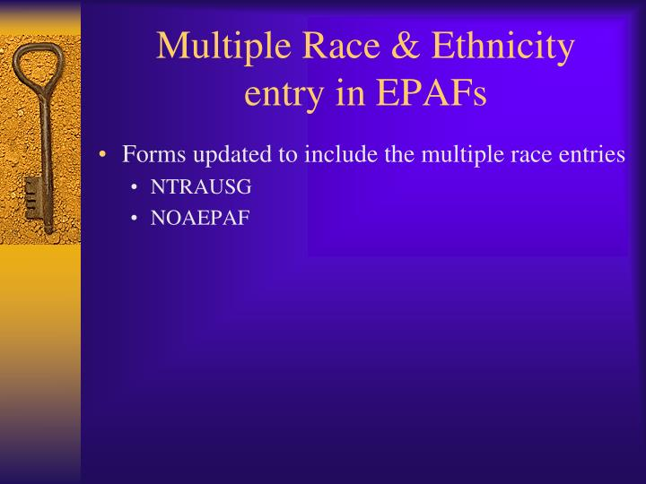 Multiple Race & Ethnicity